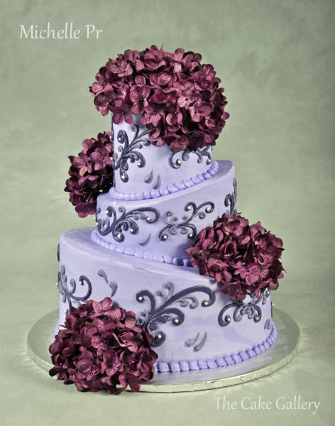 Michelle Cake Artist : Wedding Cake Photos The Cake Gallery Omaha