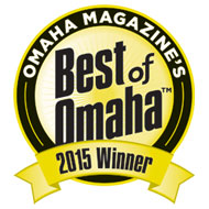 voters of Omaha Magazine, 'Best of Omaha' for 2015 have chosen us as the 1st place winner for 'BEST CAKE' in Omaha