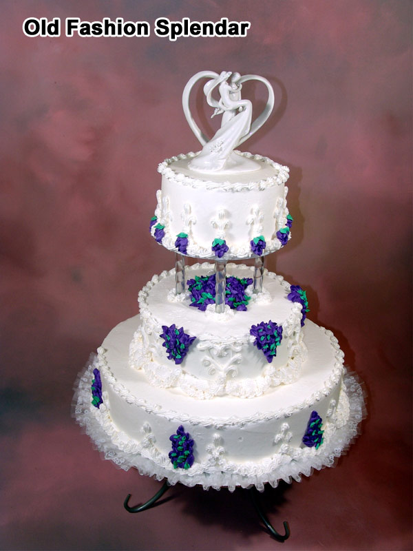 old fashioned wedding cakes