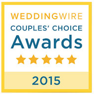 Wedding Wire© has chosen us as the '2015 Couples Choice Winner' in Omaha Nebraska